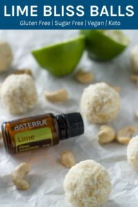 These lime bliss balls are completely sugar & sweetener free! They are so easy to make and taste AMAZING!