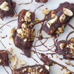 These raw snickers bars are my healthy adaptation of the popular chocolate and will soon become a favourite in your household. They are gluten, dairy and refined sugar free!
