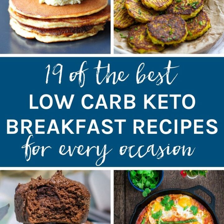 19 of the best low carb keto breakfast recipes for every occasion. Whether you are in a hurry or it's the weekend, you will find recipes to suit every occasion.
