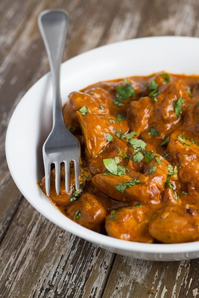 Top 10 Becomingness Recipes of 2018 - slow cooker butter chicken