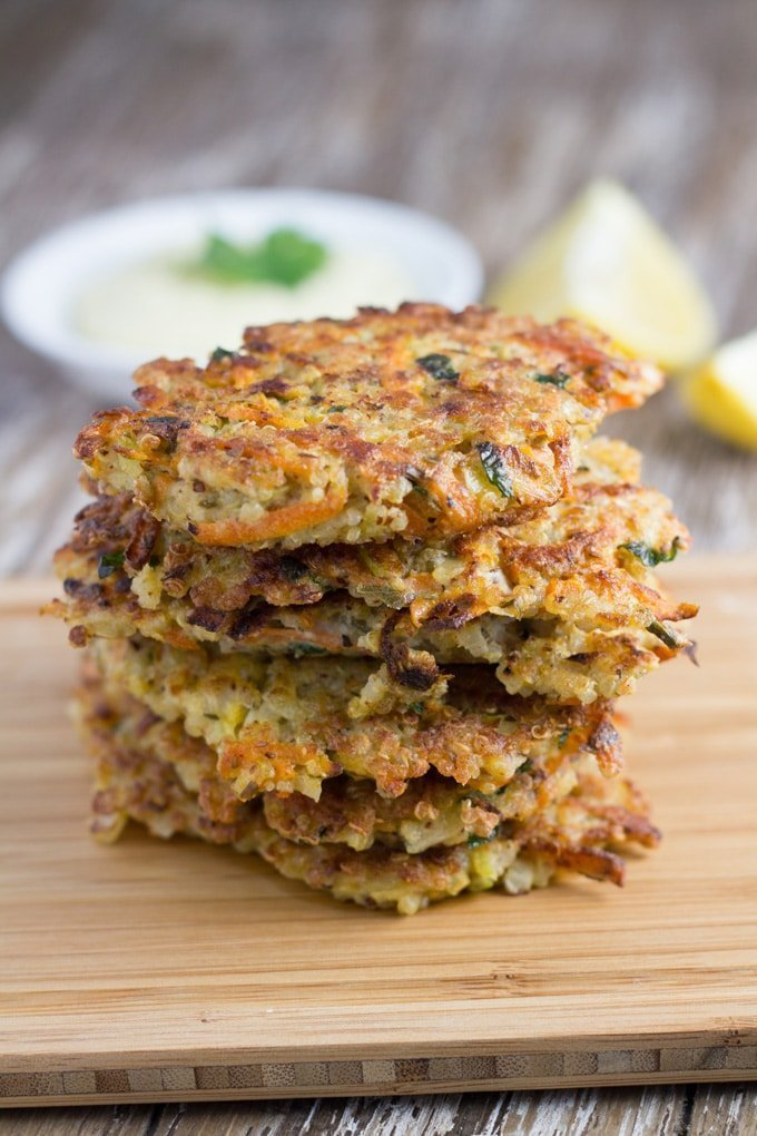 Top 10 Becomingness Recipes of 2018 - Quinoa Fritters