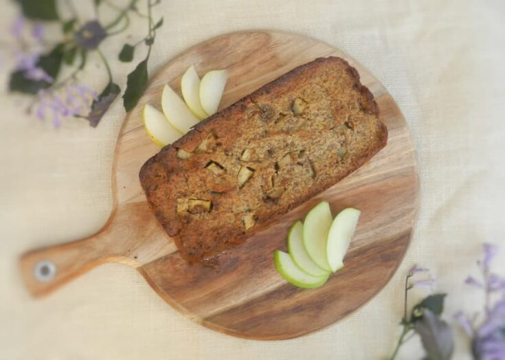 Paleo Apple, Pear & Cinnamon Loaf