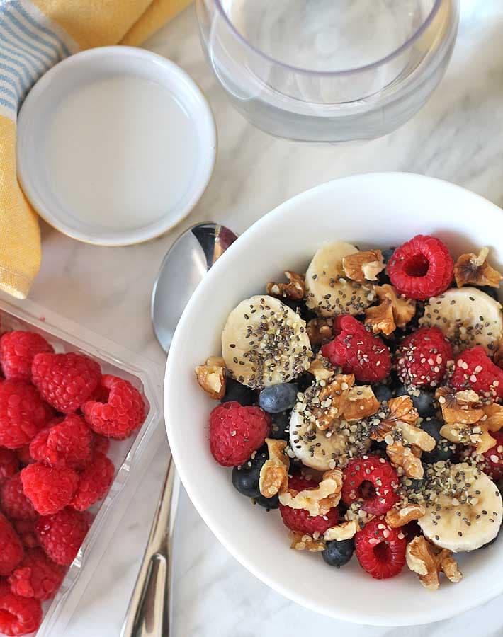 Berry Coconut Breakfast Bowl