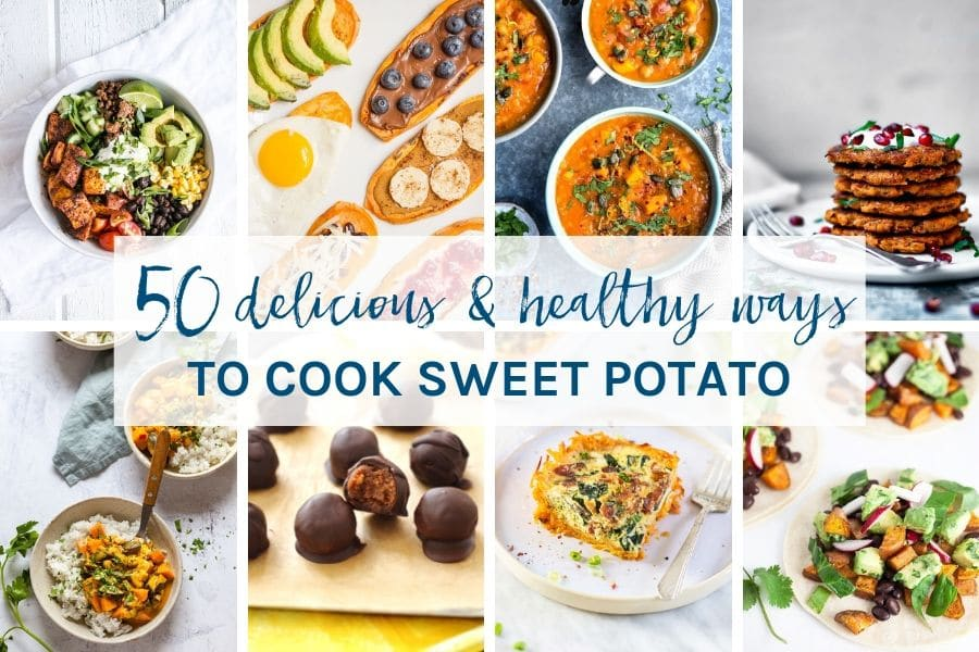 You are sure to find some new favourites in this collection of 50 delicious and healthy ways to cook sweet potato. All recipes are gluten and dairy free, or have the ability to be easily adapated.