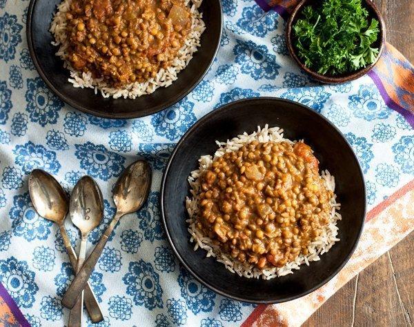 Slow Cooker Masala Lentils