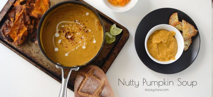 Nutty pumpkin soup recipe