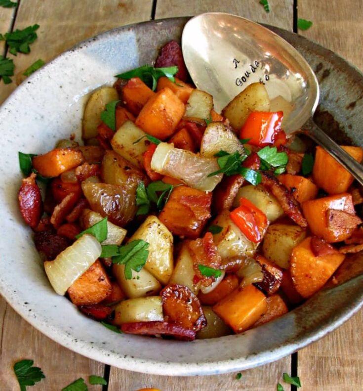 Bacon Sweet Potato Hash