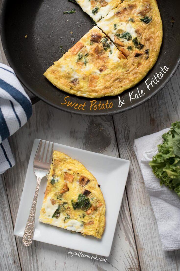 Sweet Potato Kale Paleo Frittata
