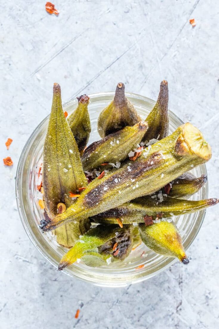 Crispy Roasted Okra Recipe