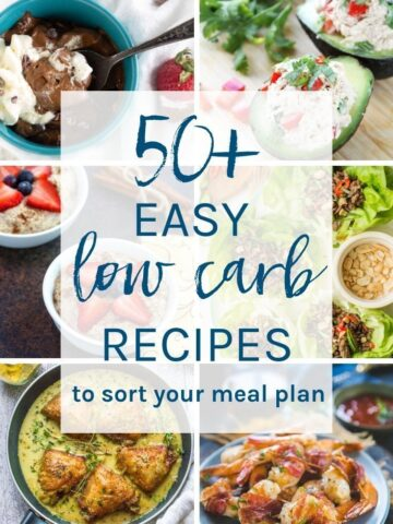 low carb recipes images