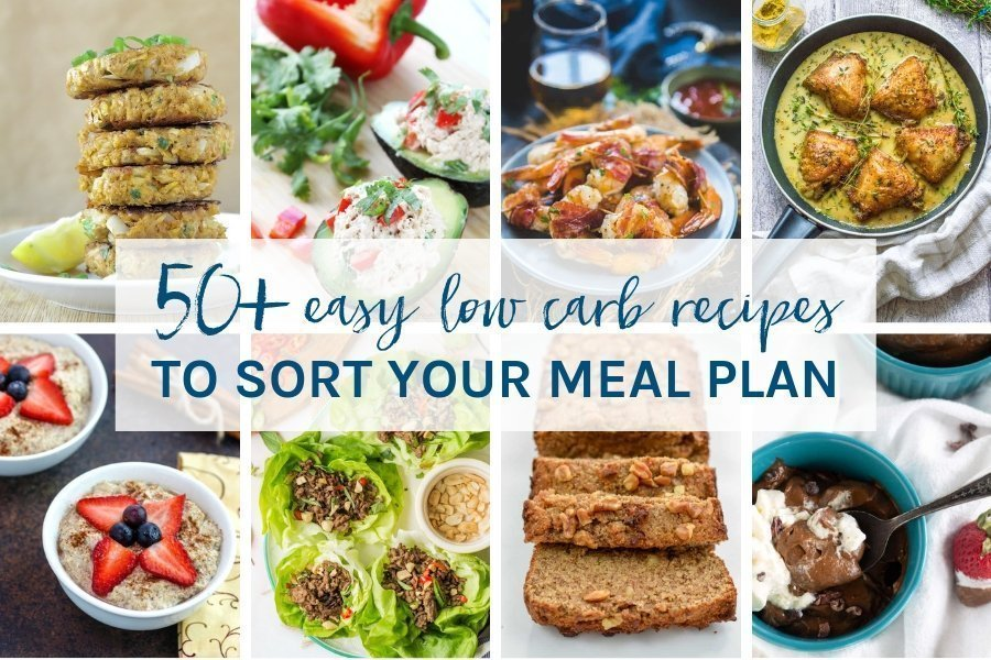 Looking for low carb recipes to plan your week ahead? You have come to the right place! Here you will find 50+ low carb recipes to sort your meal plan.