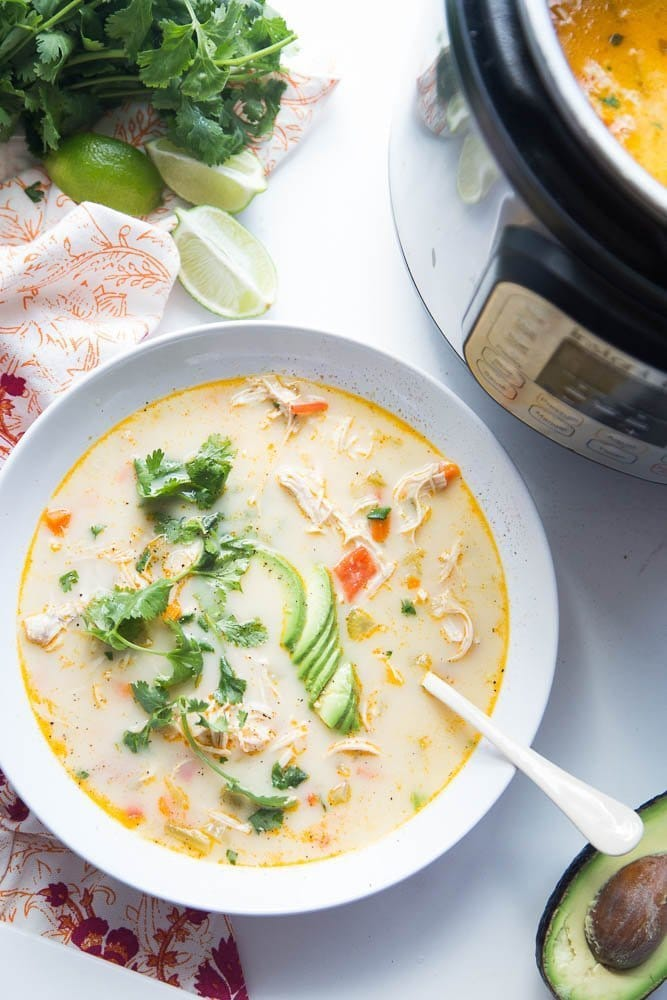 Creamy Southwest Chicken Soup for Instant Pot