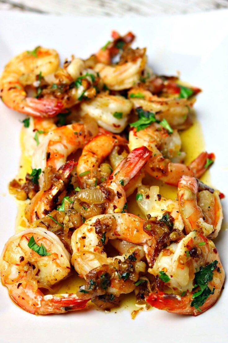 Keto Shrimp Scampi