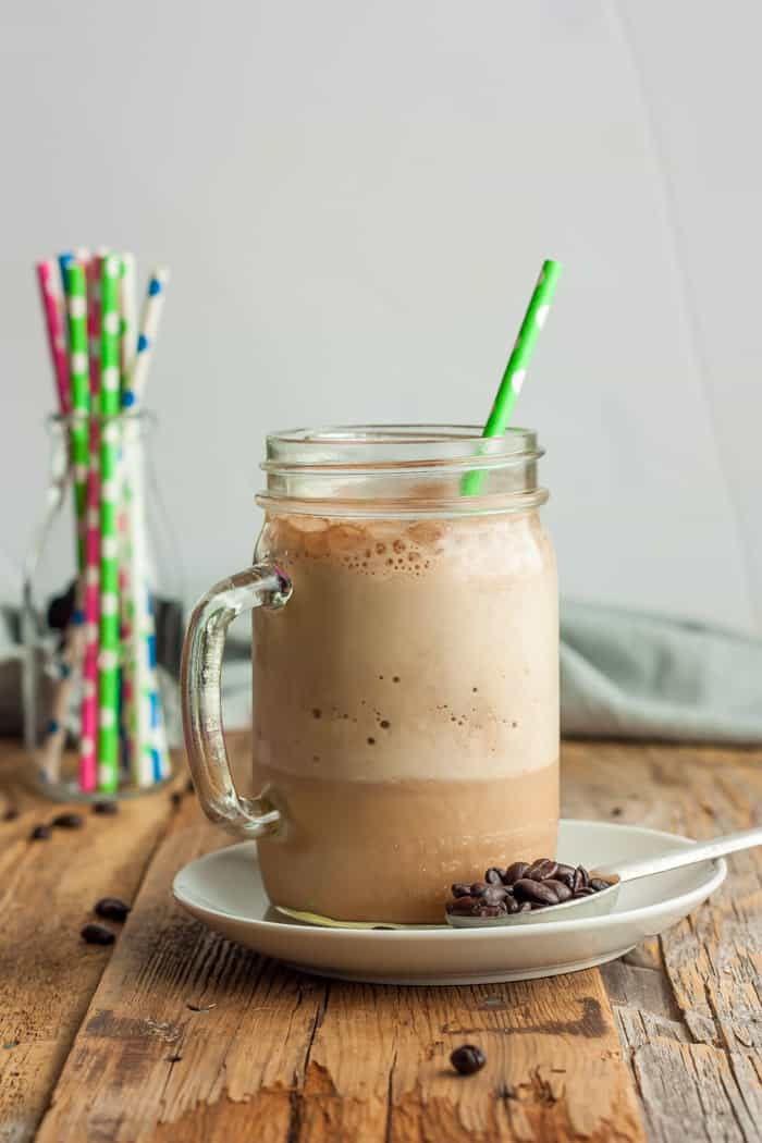 Blended Iced Coffee - Healthy Iced Coffee