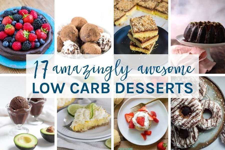 These amazing awesome 19 low carb desserts will become your go-to dessert recipes for when you are entertaining guests. They are all easy to make and super delicious.