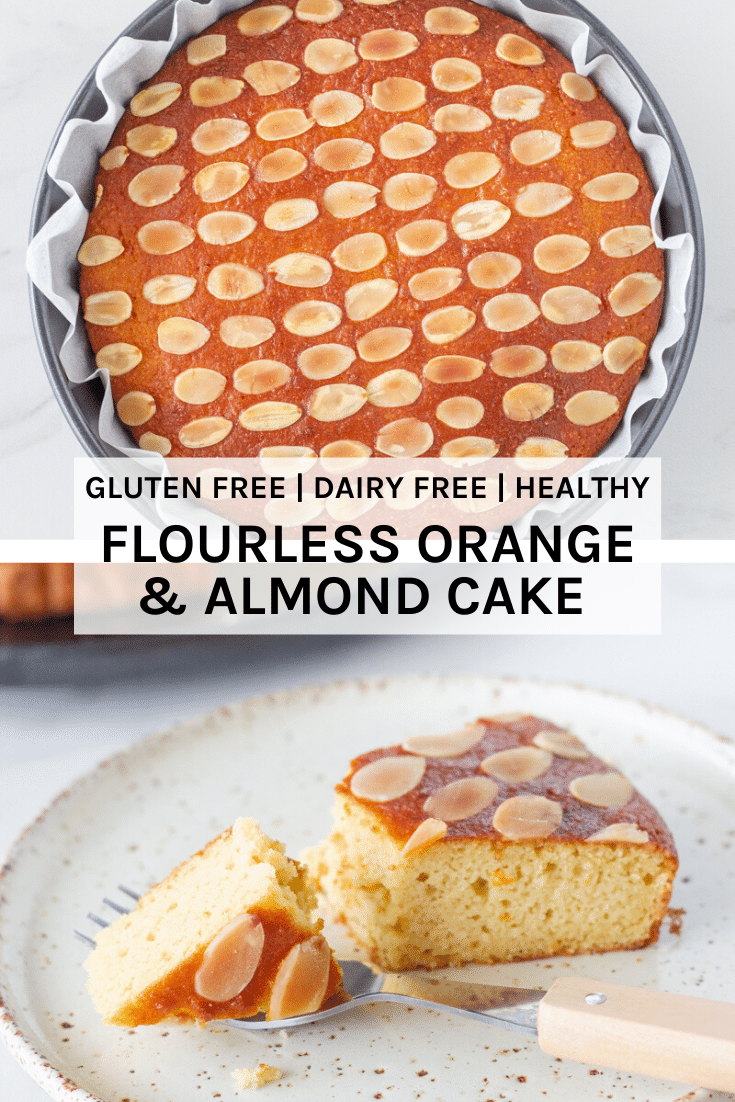 This gluten free flourless orange and almond cake is moist and packed full of delicious flavour. It is made using simple ingredients and is one of the easiest cakes to make.