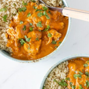 Slow Cooker Chicken Tikka Marsala - an easy to make, classic Indian dish that is packed full of amazing flavour, with ingredients that you can buy at your local supermarket.