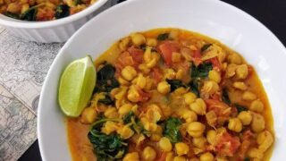Chickpea Coconut Curry in InstantPot