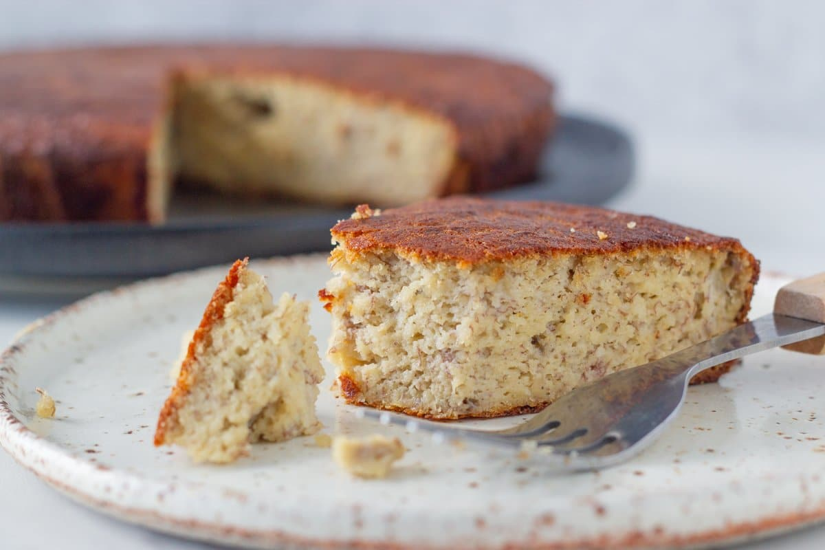 Best Ever Gluten Free Banana Cake - This banana cake is seriously the best! Simple to make, easy to find ingredients but most of the all, it is the most flavoursome, moist banana cake ever. You will not be disappointed.