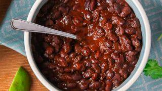 Smoky Baked Black Beans