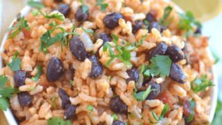 Quick And Easy Instant Pot Rice and Beans
