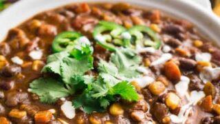 Vegan Instant Pot Chili Recipe