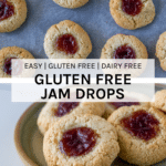 How these Gluten Free Jam Drops when finished baking