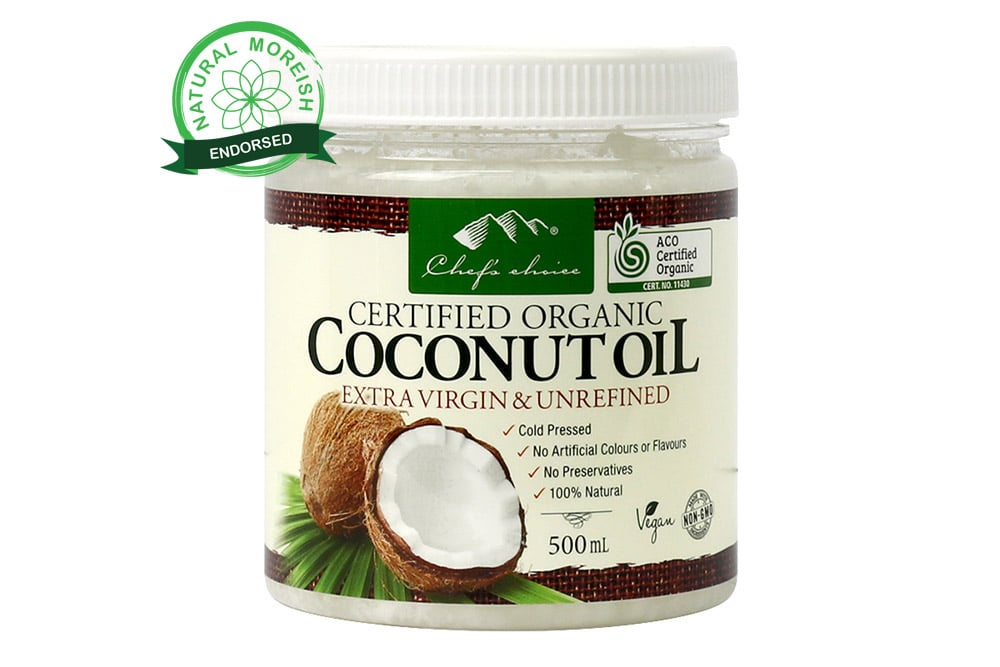 Organic Coconut Oil Extra Virgin & Unrefined
