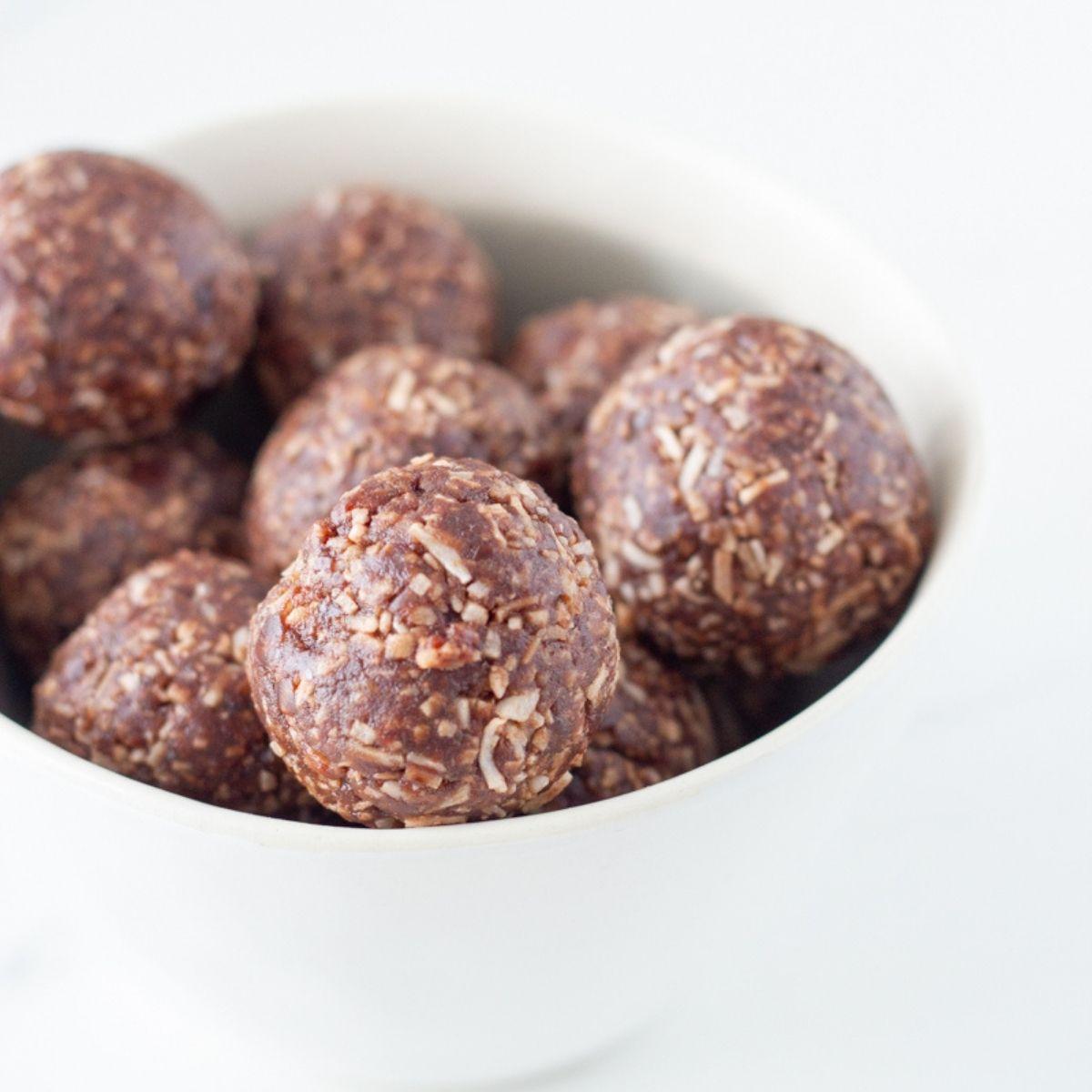 Coconut Rough Bliss Balls