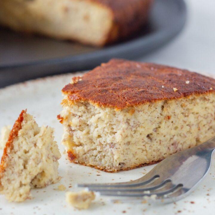 Best Ever Gluten Free Banana Cake