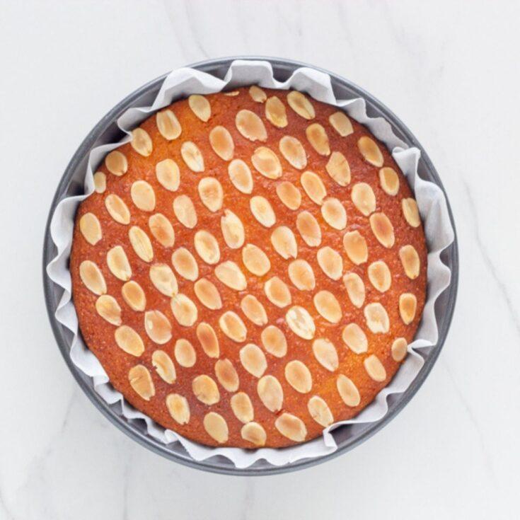 Gluten Free Flourless Orange and Almond cake